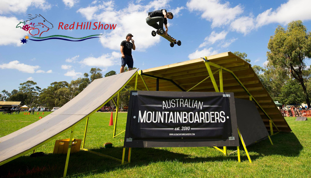 This Saturday   Australian Mountainboarders   are performing Mountainboard stunt shows and Mountainboard lessons alongside   Big Air School   at the  Red Hill Show  ! For more info and session time  click here