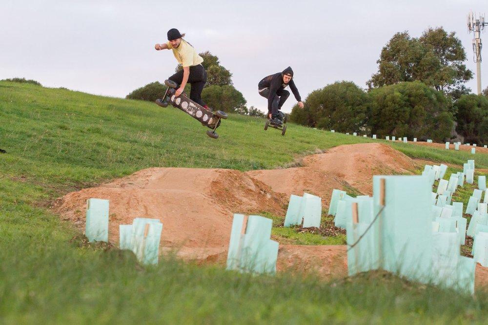 Mountainboarding park beaconsfield, bmx park beaconsfield