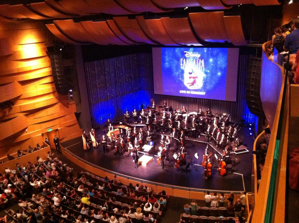 Performing  Fantasia  with the CSUN Symphony Orchestra at the Valley Performing Arts Center in Spring of 2015!