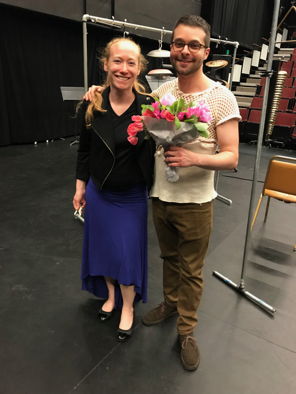 w/ my mentor, Dr. Bonnie Whiting. After my Master's Degree recital, June 2nd, 2018. University of Washington in Seattle.