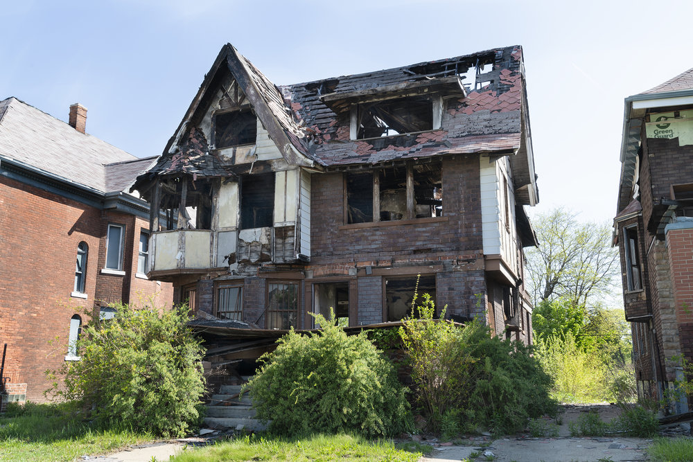 Burned Out, Detroit 2018