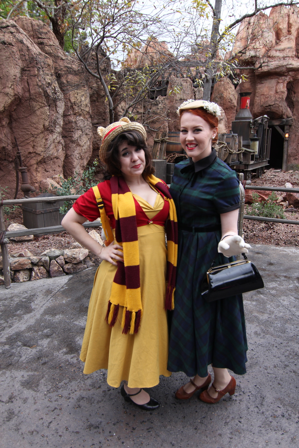 She was disney bounding as POOH! <3 #PERFECT