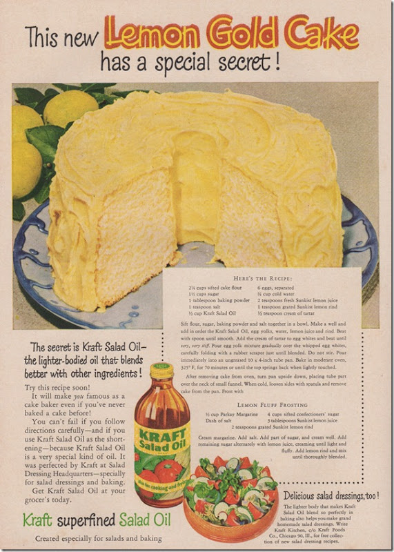 """""""It was perfected by Kraft at Salad Dressing Headquarters"""""""