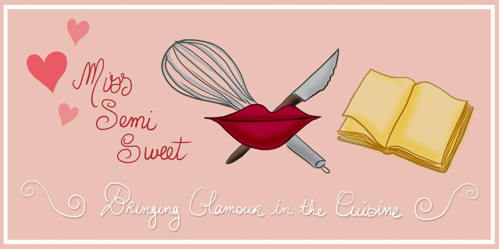 Welcome to Miss Semi Sweet - Learn more about my passion for cooking, retro recipes, and vintage fashion!
