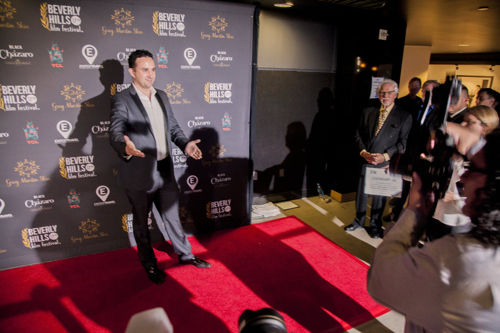 "Diretor Leonardo Corbucci during Red Carpet of the ""Beverly Hills Film Festival"""