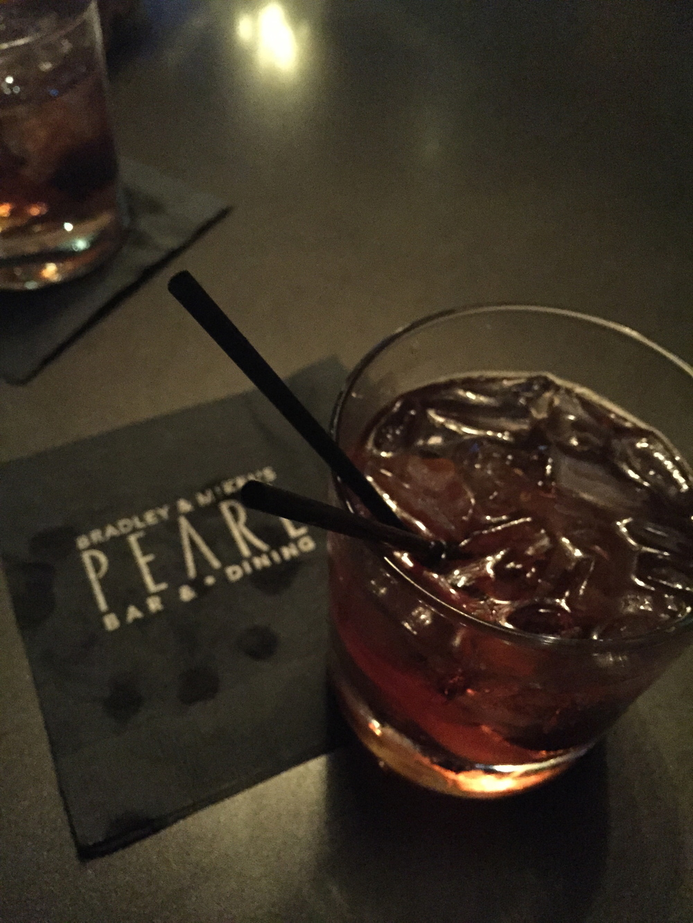 Monk's Old Fashioned at Pearl Bar & Dining