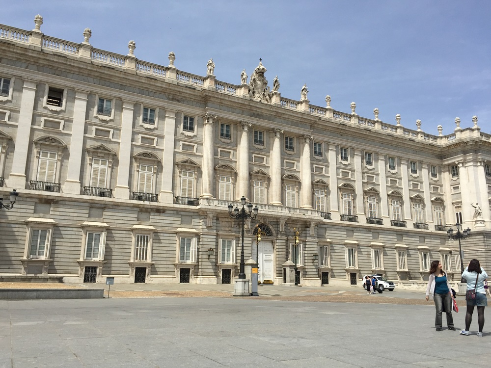 Guess how many rooms are in this palace. Got a number in mind? If you guessed 3,400 then you are right! Now guess who led the construction and design of this palace. Any guesses? Napoleon Bonaparte's brother. Next question: what is this palace used for? Tours and royal celebrations (no one resides there). Thank you for participating in this quick trivia round!