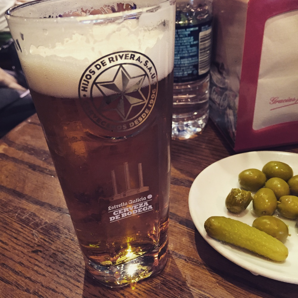"""Número uno at Naturbier. They brew beer with natural gas so you """"don't get bloated."""" I quoted that because I'm not sure if it actually works. Forgive me for I ate pasta and cheese before this one so it was hard to tell."""