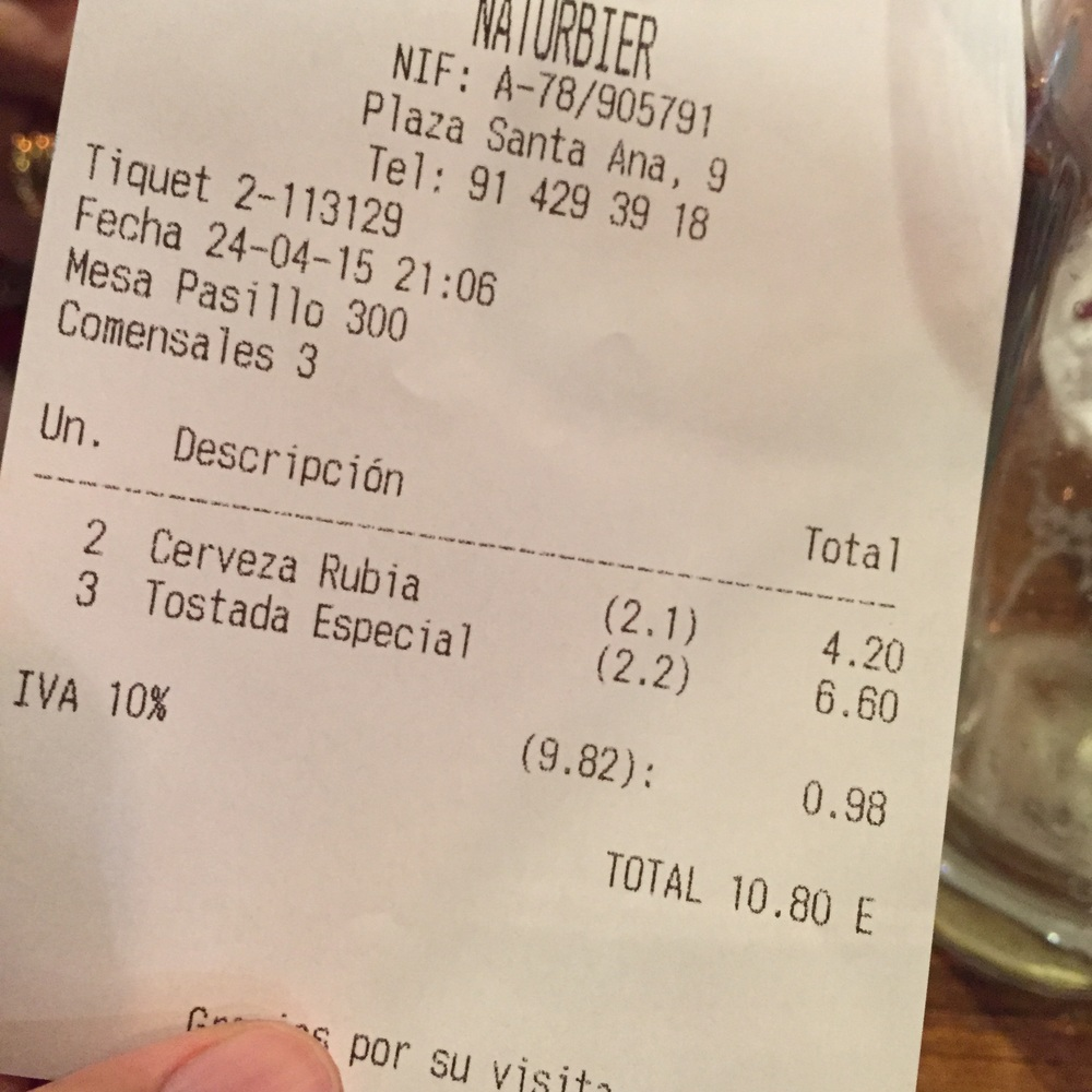 Cheap drinks. I haven't had to pay more than 12 euros for 4 or 5 drinks. It's not even happy hour. Not sure if happy hour even exists in Europe.