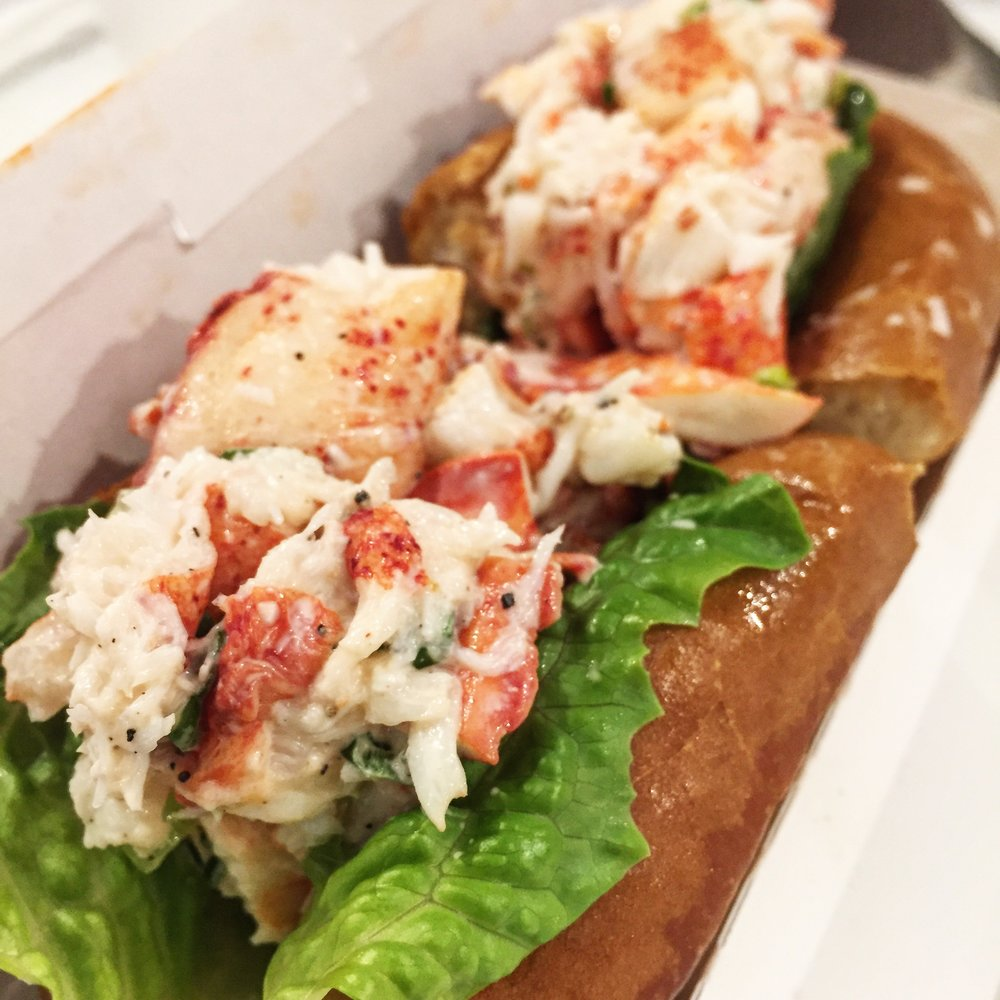 First Lobster Roll. Was not disappointed.