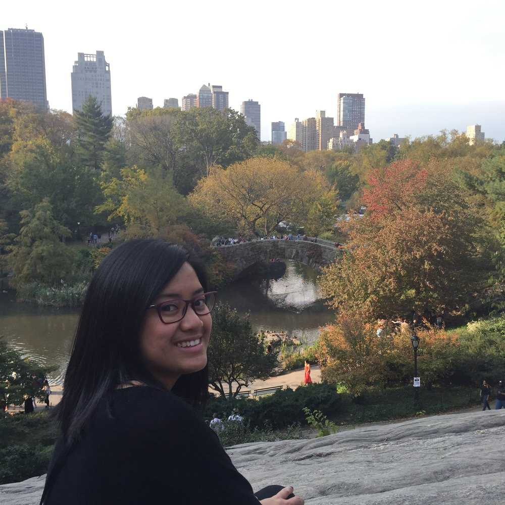Central Park and my happy af face.
