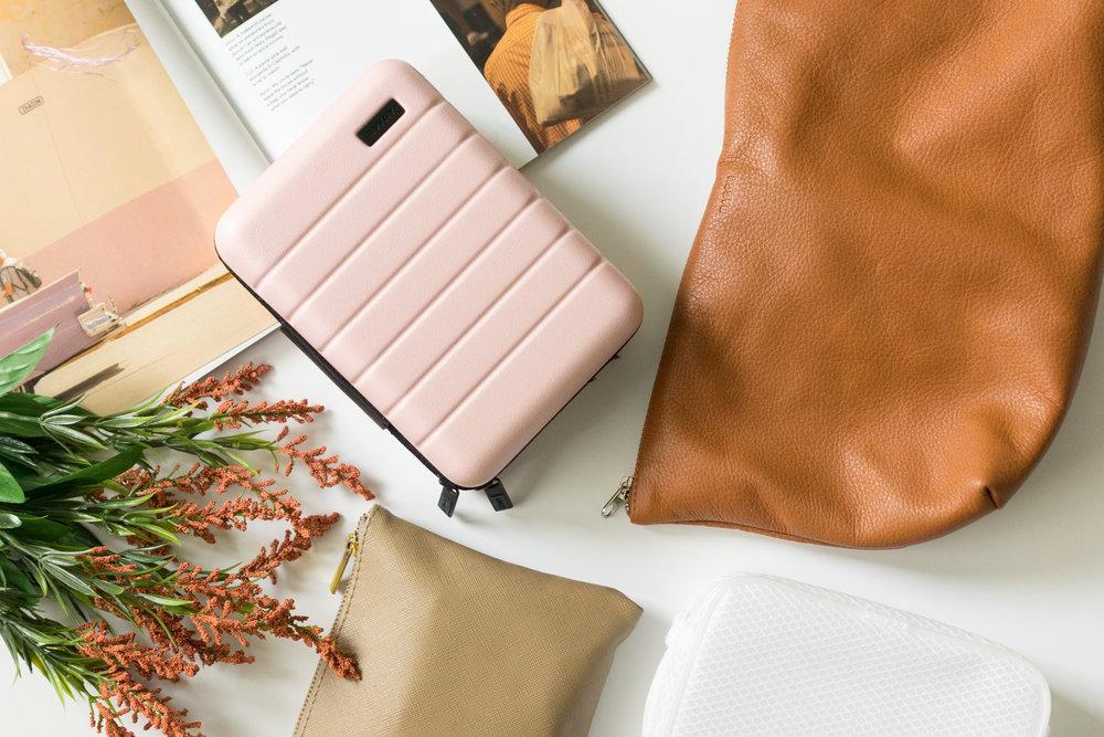 travel bag essentials for every trip flatlay