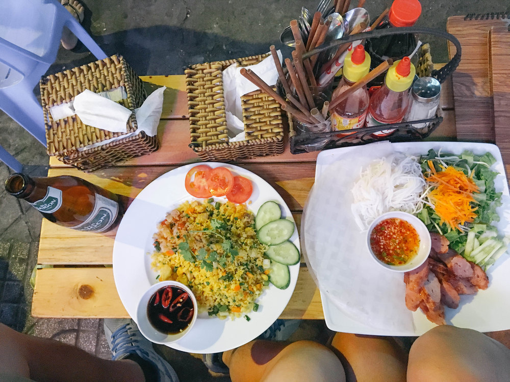 Vietnamese Food in Saigon - Where and What to Eat - backpacker street.jpg
