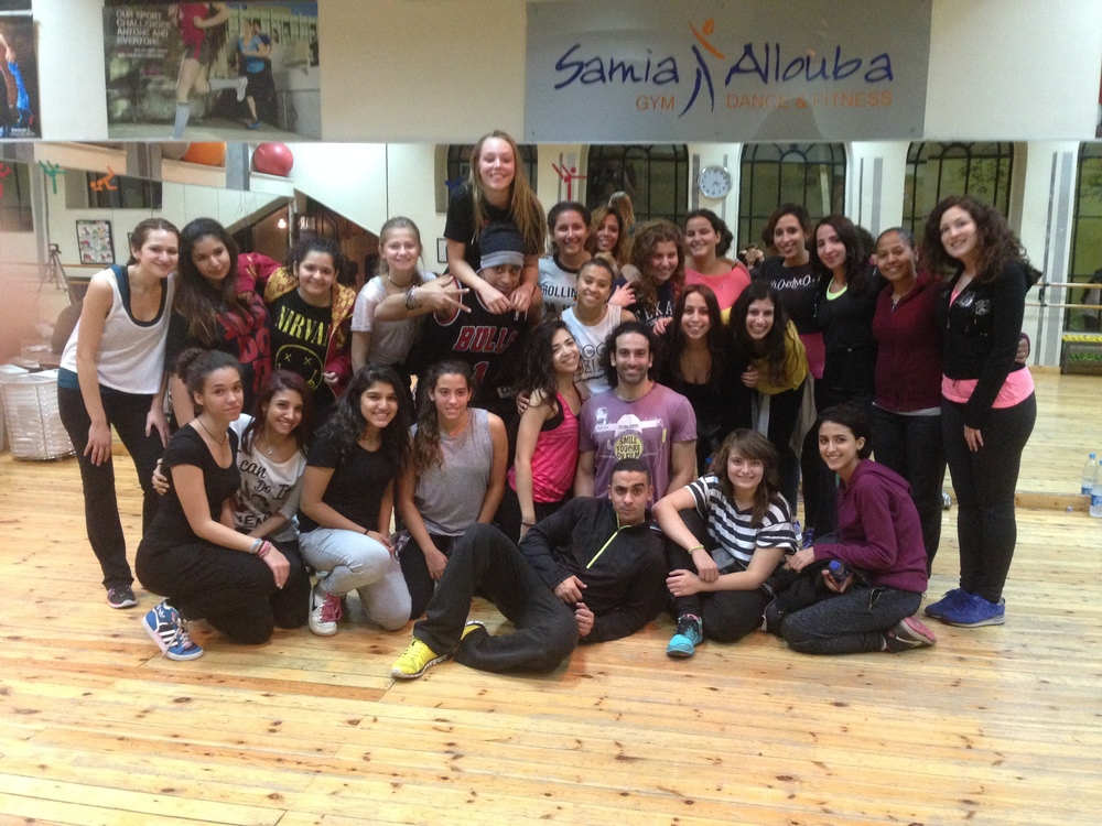 Dancehall Workshop Jan 2015
