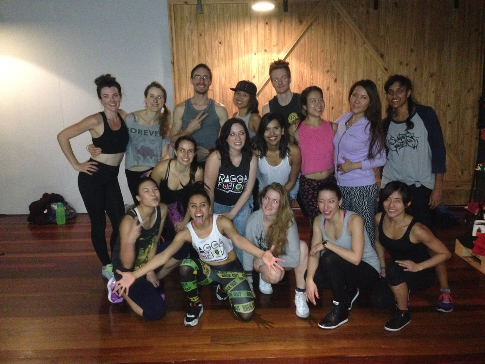 Dancehall Workshop May 2015