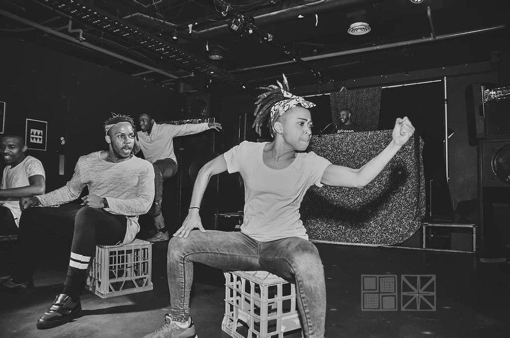 Afrocan 2nd Birthday Pantsula Performance