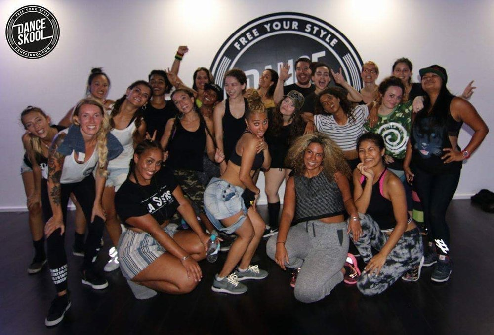 DANCEHALL FUZION Workshop Nov 2016