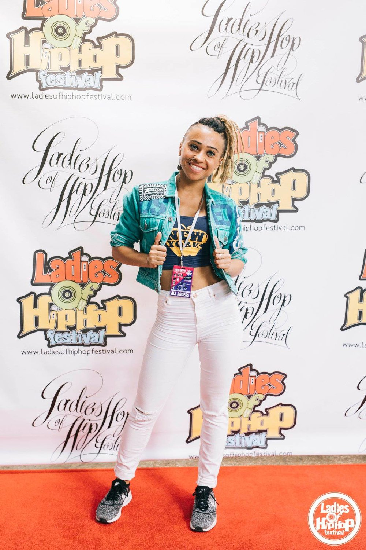Ladies of Hip Hop DANCEHALL Judge 2017 (Photo by Melika Dez)