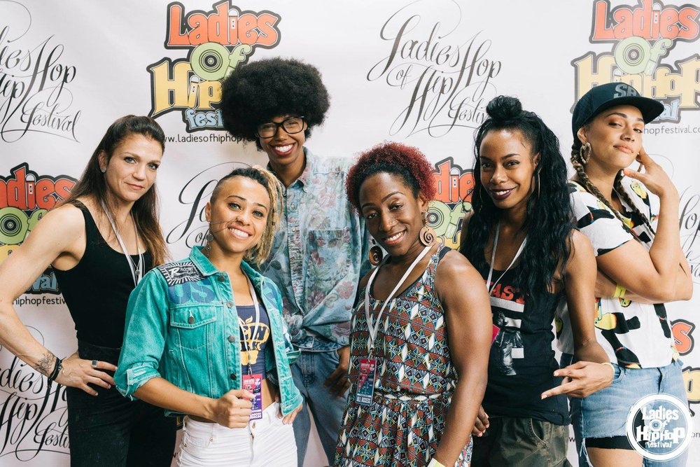 Ladies of Hip Hop Festival 2017 Judges - New York City, USA