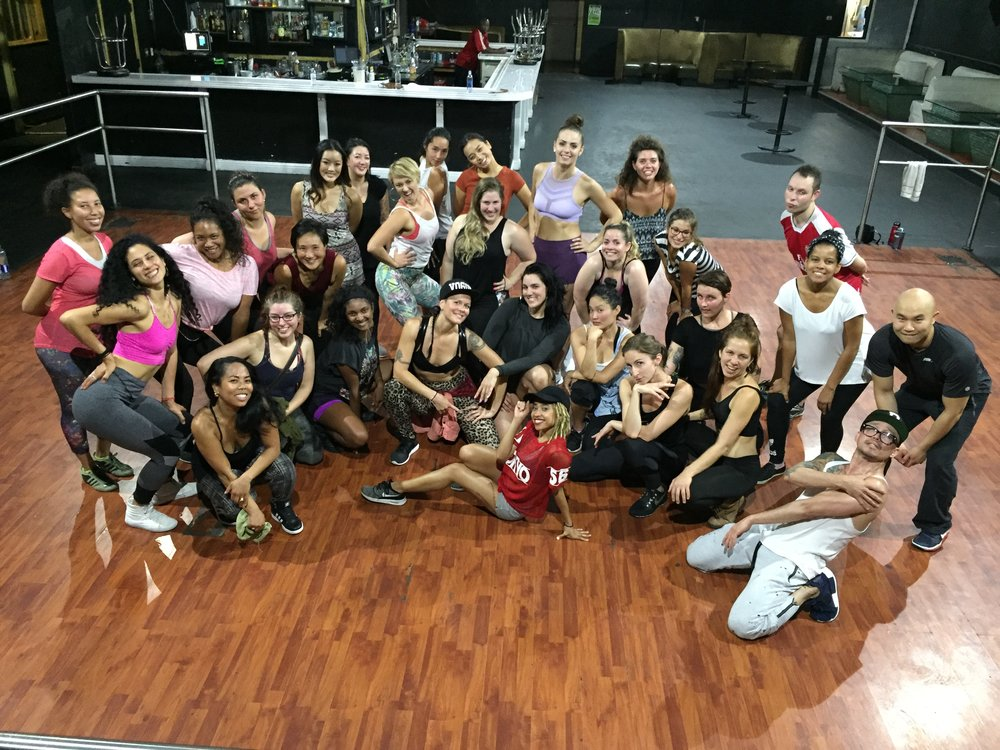 Dancehall Workshop Aug 2017
