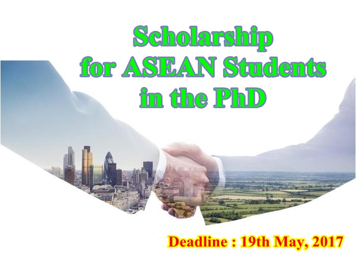 PhD scholarship ASEAN