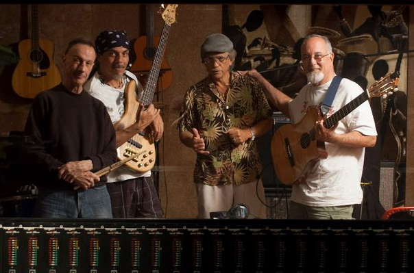 pictured above (left to right): kevin daley, beau leonidus, kirk thompson, and chucky souza