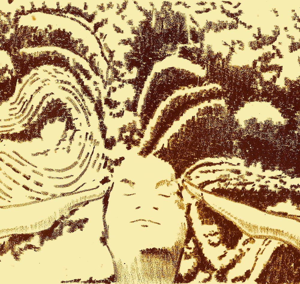E Malama o Lilo I ka Lima a Pa by Chucky Souza, 1991 (Lithograph 5x7in).