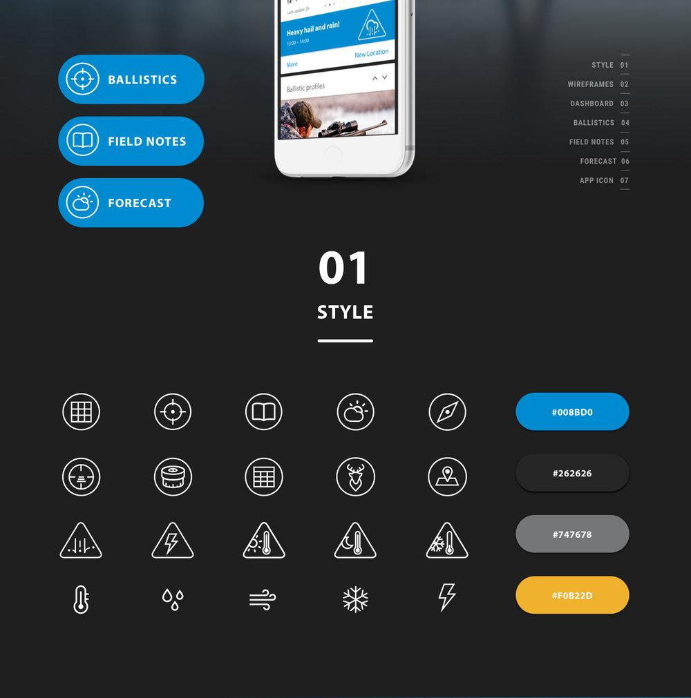 ZEISS HuntingApp Icon Design