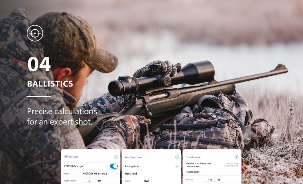 ZEISS HuntingApp ballistics