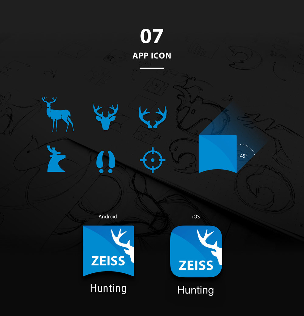 ZEISS HuntingApp AppIcons