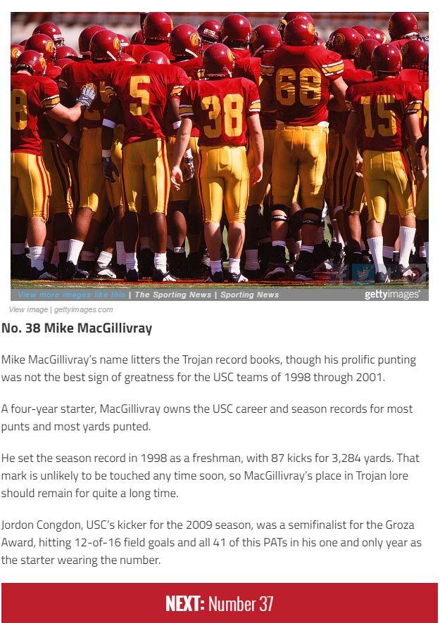 Mike MacGIllivray 99 Best