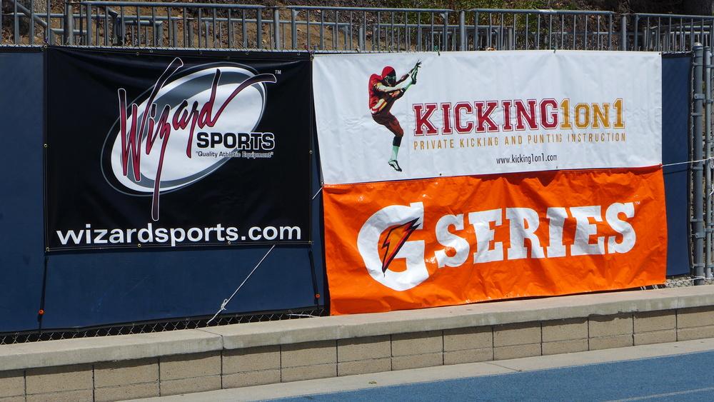Wizard Kicking Gatorade Kicking1on1
