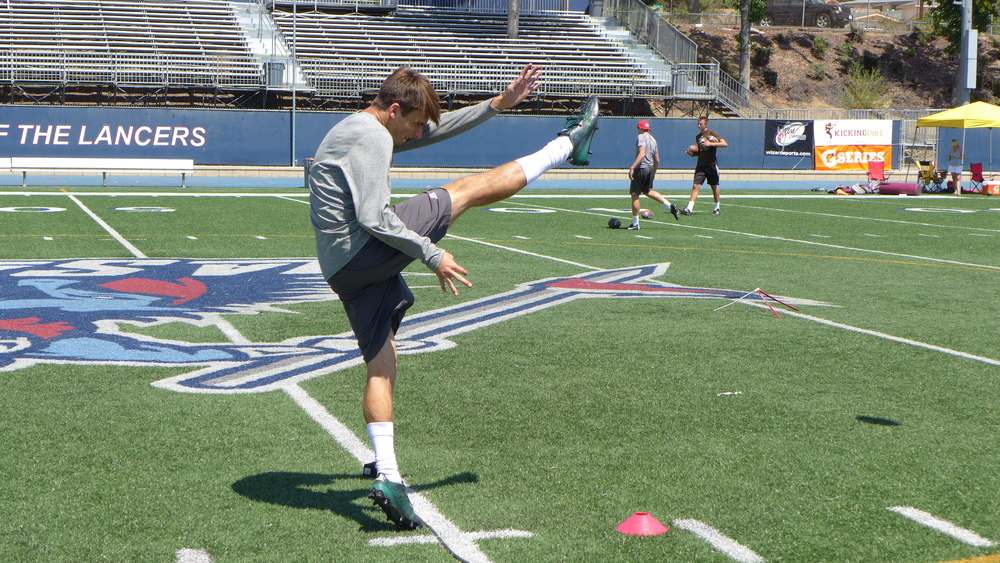 maranatha high school punter todd smith