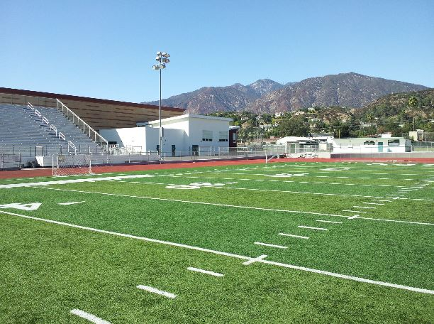 monrovia high school's don montgomery stadium, monrovia, ca