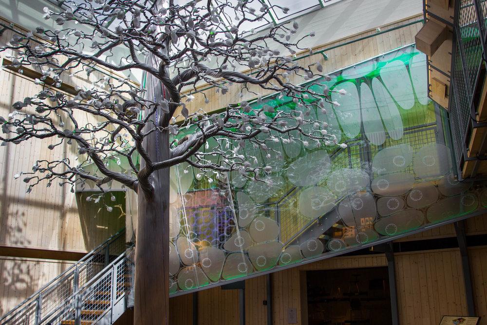 norsk skogmuseum - installation
