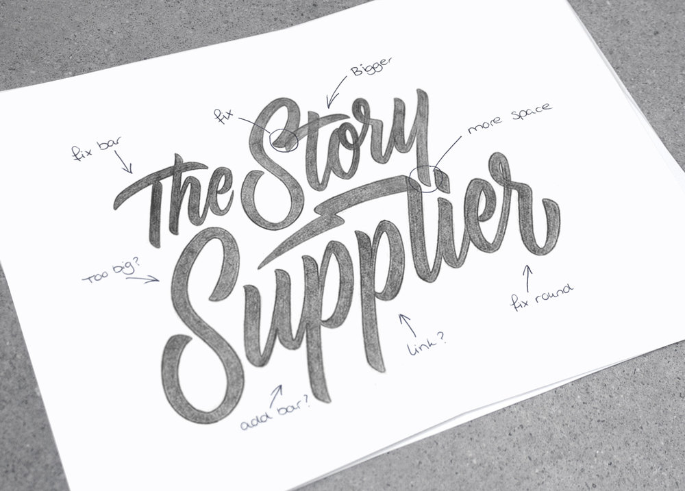 THE STORY SUPPLIER LOGOTYPE