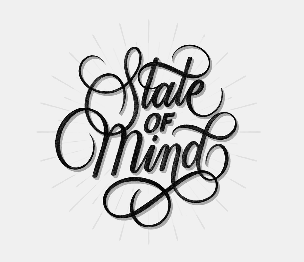 STATE OF MIND  LETTERING