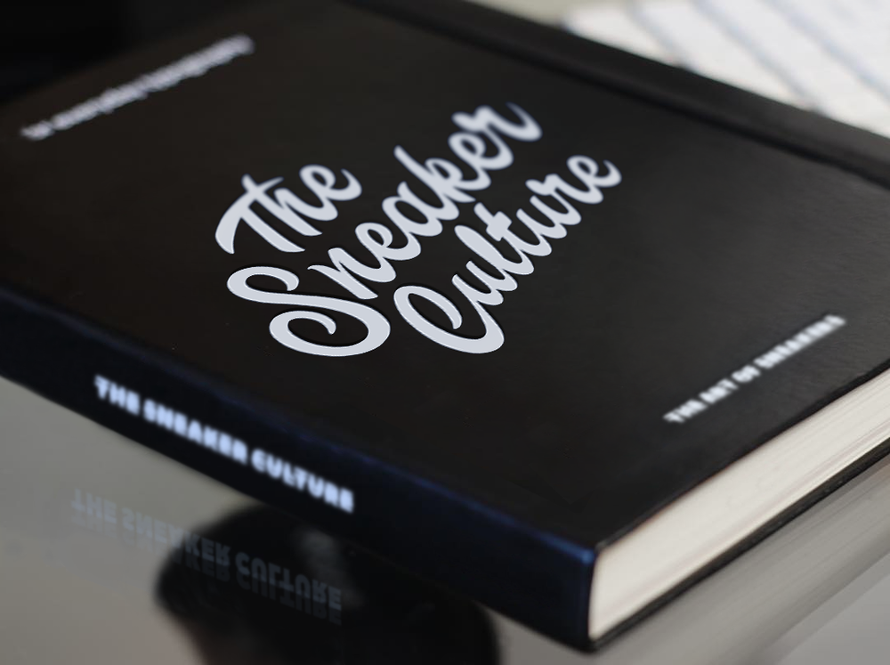 THE SNEAKER CULTURE  LETTERING