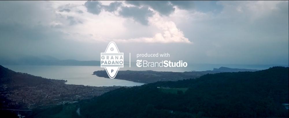 T BRAND STUDIO X GRANA PADANO