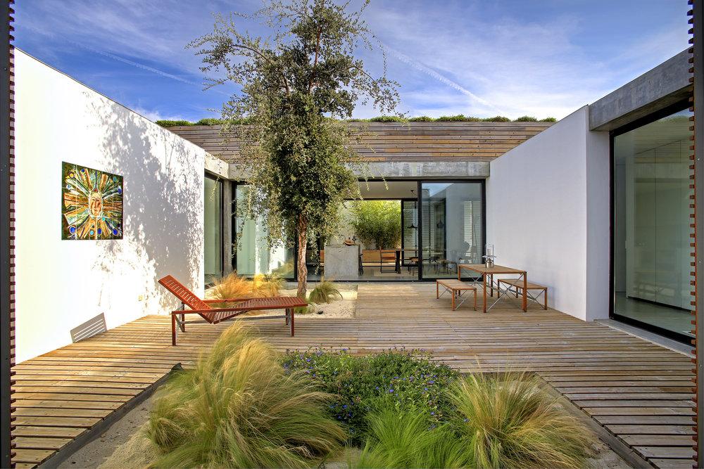 Casa do Pego Interior Patio - Comporta - www.casadopego.com