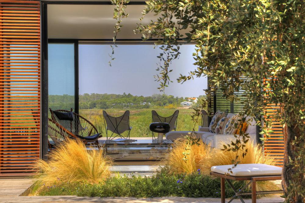 Casa do Pego - Interior Patio and Living Room - Comporta - www.casadopego.com