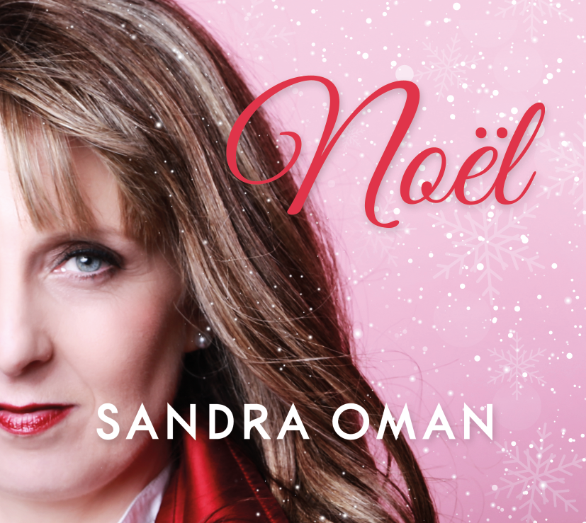 Sandra's new album, Noël, will be launched at the NCH on November 15th, 2016