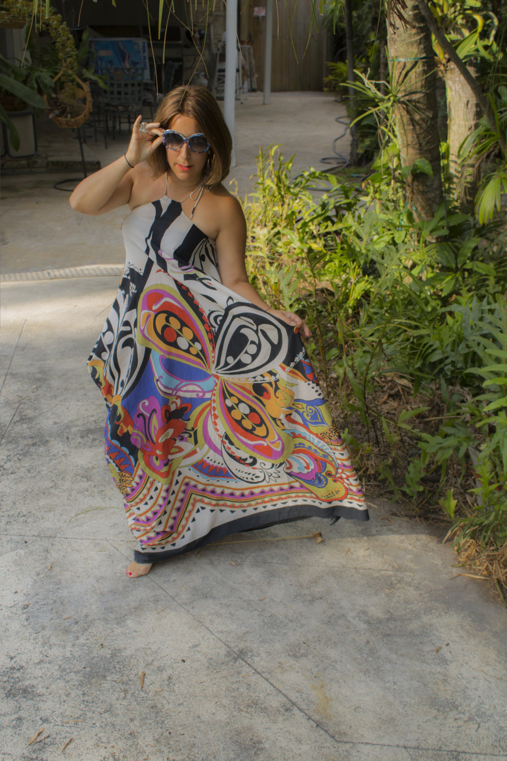 Feeling free on Palm Island in Miami in the Anni from   Mersur   in butterfly magic. Are you feeling it?