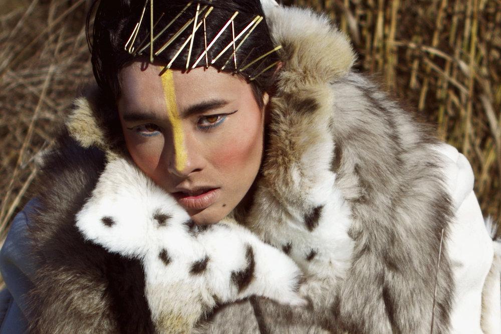 Fur coat by Regent Park