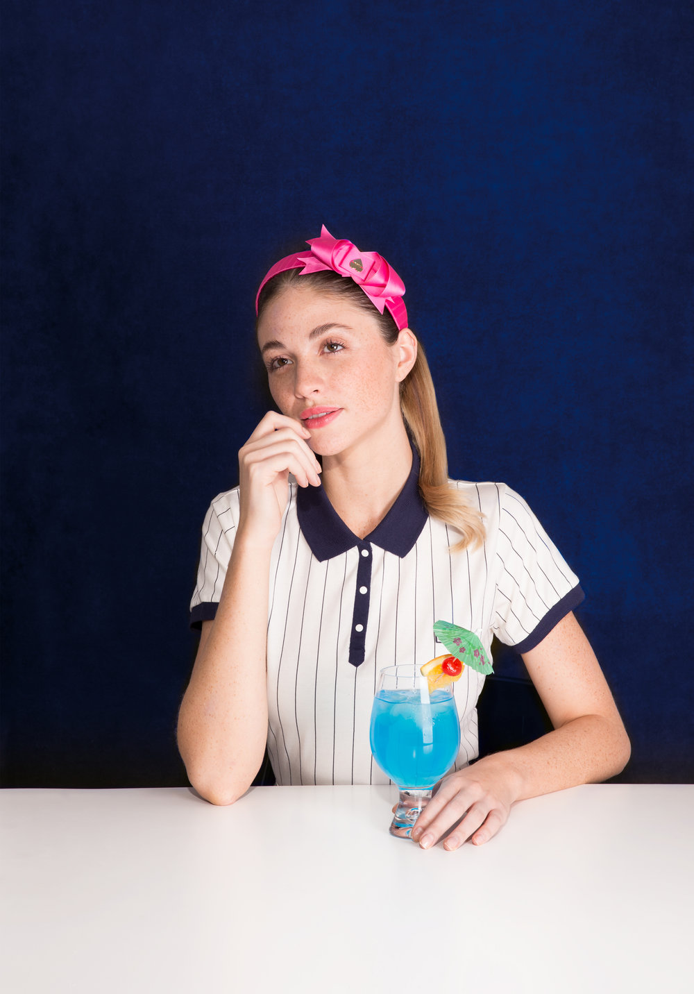 Polo: Fila, Headband: Luella