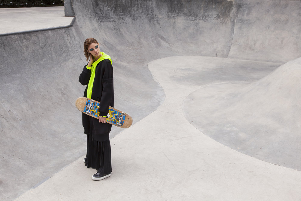 EXCLUSIVE // LOST IN THE SKATE PARK BY OLIVIER BRAUMAN