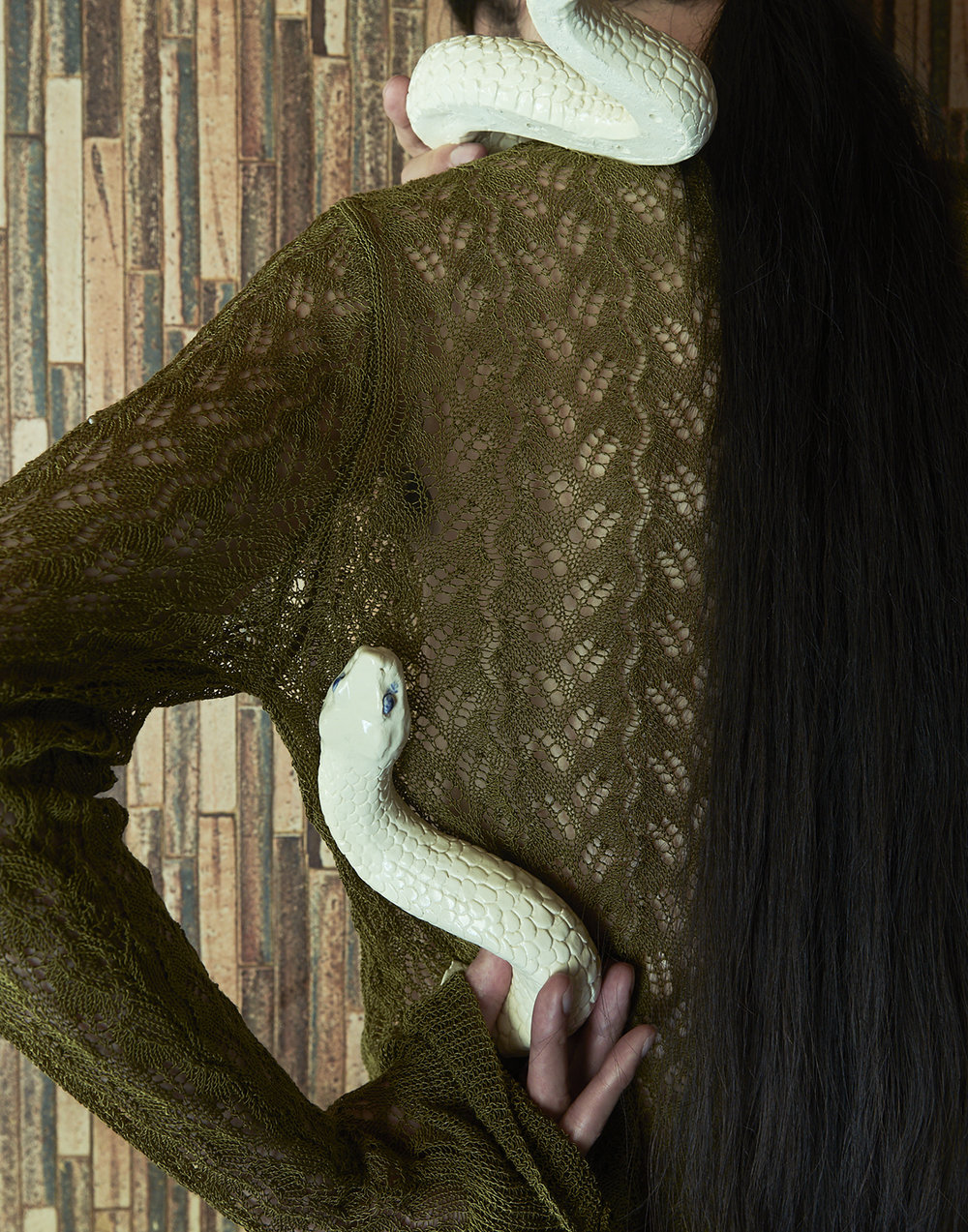 Knit  Chinmens   Ceramic:  Kilala Iriyama  @kilala72