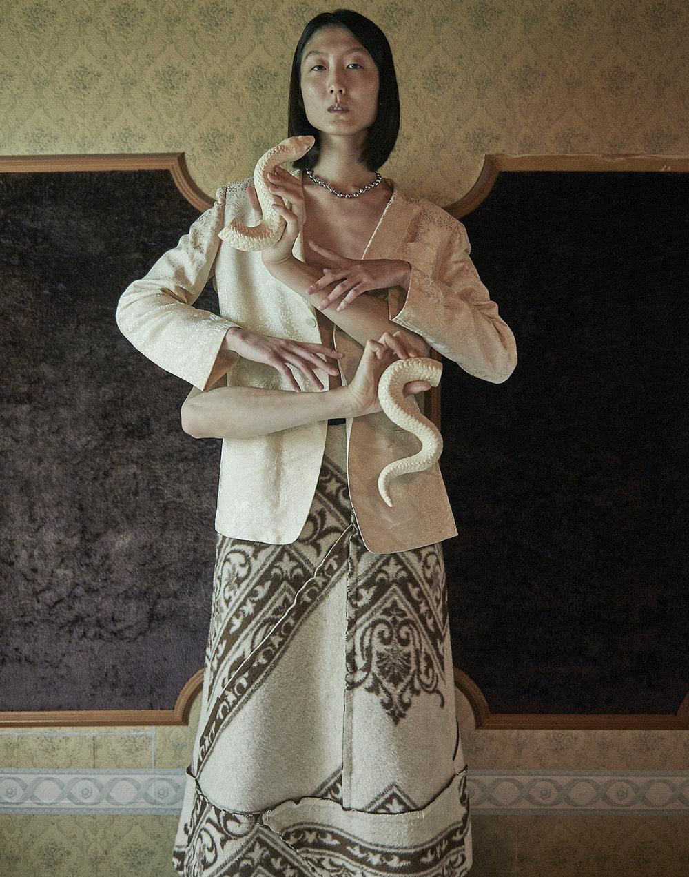 Woman Shirts  Comme des Garcons   Ceramic:  Kilala Iriyama  @kilala72