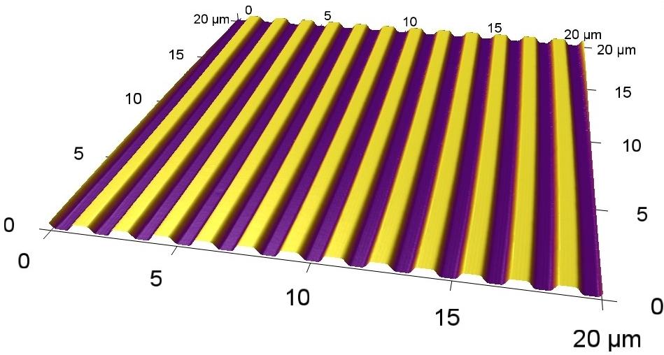 AFM Image of NanoSurface Culture Surface