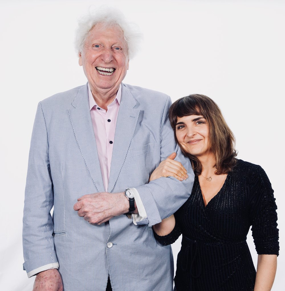Tom Baker and Tracy Wiles 3.jpg
